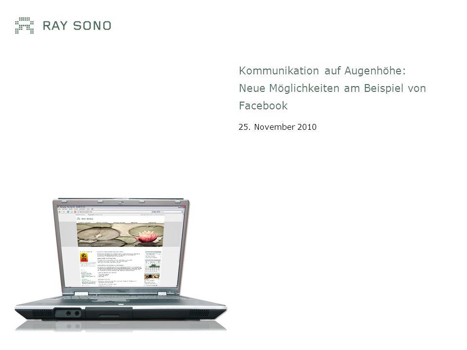 Philipp Roth Information Architect Ray Sono AG, München Facebookmarketing.de Blog rund um die für das Marketing relevanten Aspekte von Facebook.