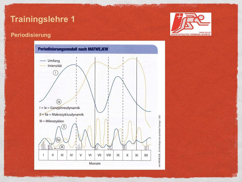 Trainingslehre 1 Periodisierung