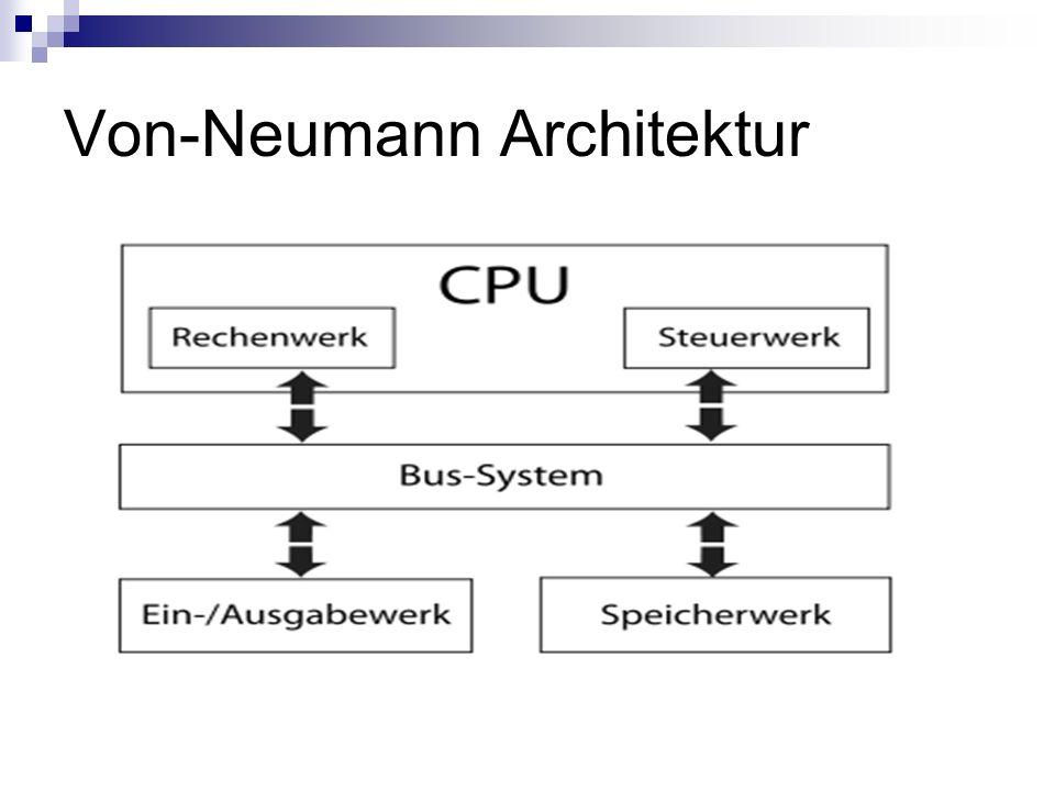 Von-Neumann Architektur