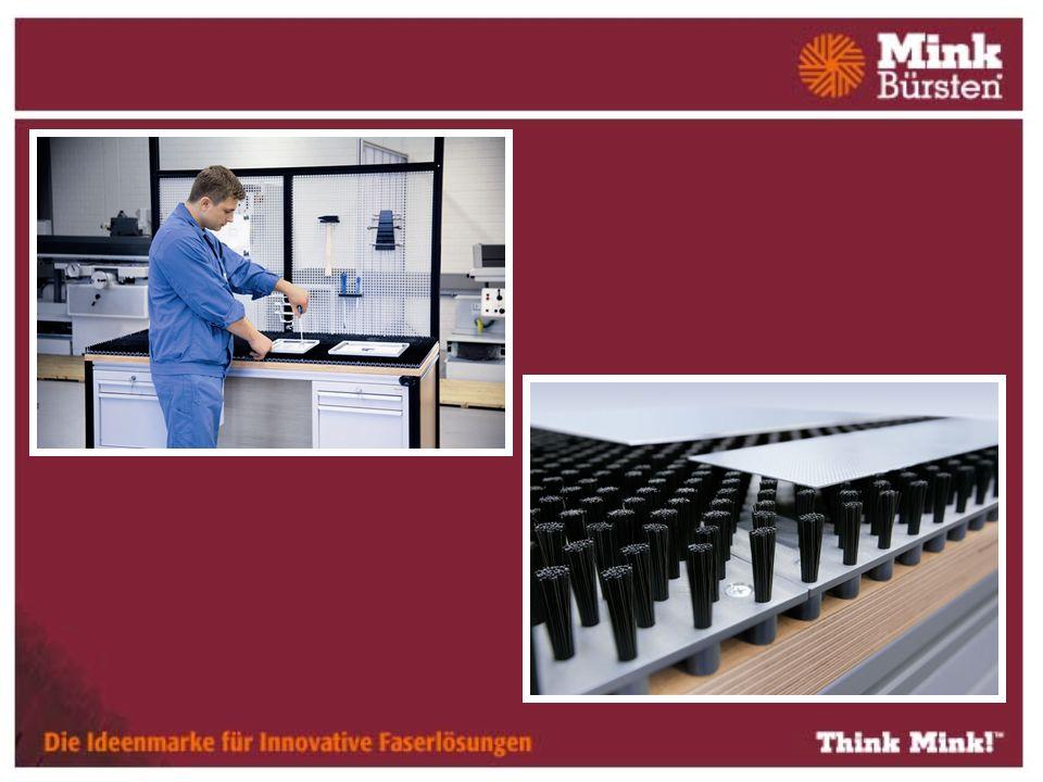 Punktförmige Auflage reduziert den Reibungswert gegenüber vollflächigen Auflagen Flexible Anpassung der Tragkraft Einfache Reinigung mit Druckluft oder durch Saugen ist möglich Preiswerter Standardartikel