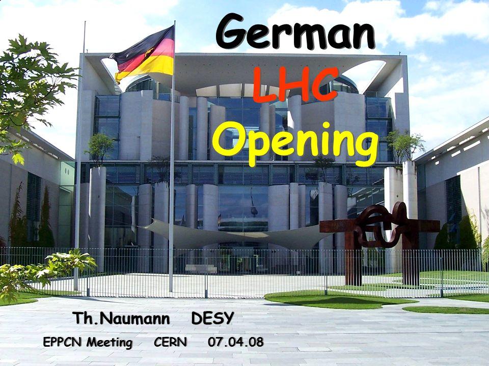 12 Th. Naumann DESY EPPCN Meeting CERN 07.04.08 S&F: erste Ideen Physiker Großphotos: P.Ginter