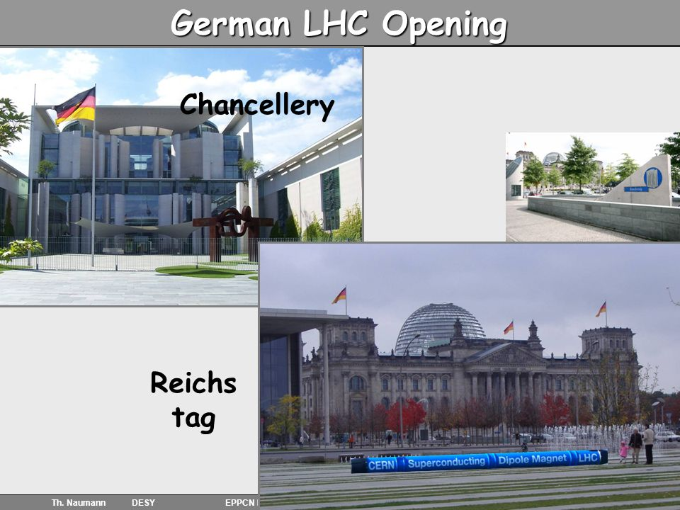 5 German LHC Opening Chancellery Reichs tag