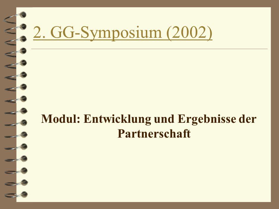Titel: Entwicklung und Ergebnisse der Partnerschaft in Giessen Datenblatt der Datei: 4 Autor(en): Prof.