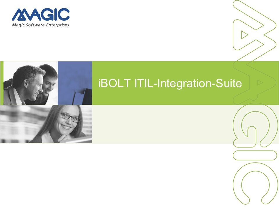 1 iBOLT ITIL-Integration-Suite