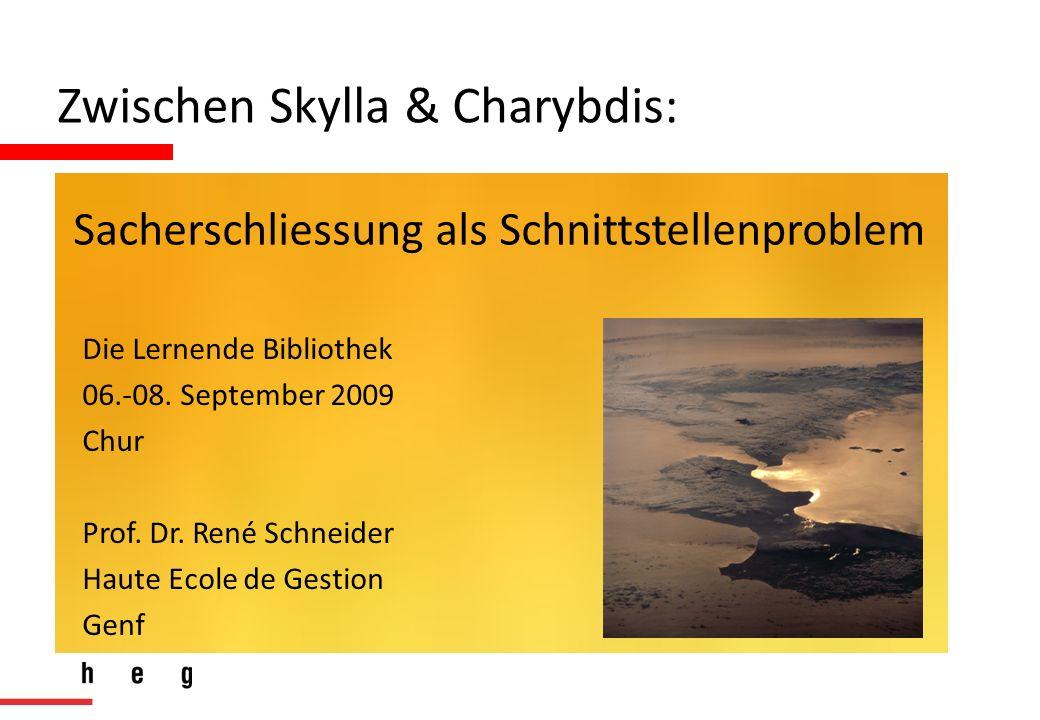 Die Lernende Bibliothek 06.-08. September 2009 Chur Prof.
