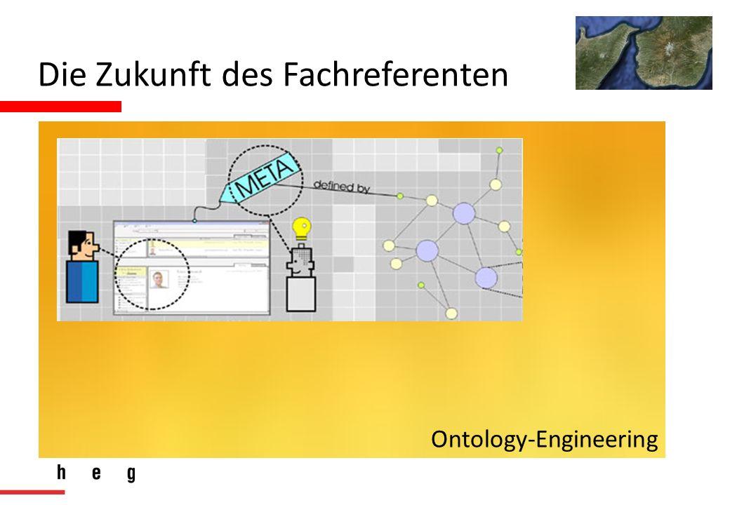 Die Zukunft des Fachreferenten Ontology-Engineering