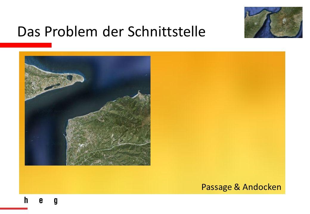 Das Problem der Schnittstelle Passage & Andocken