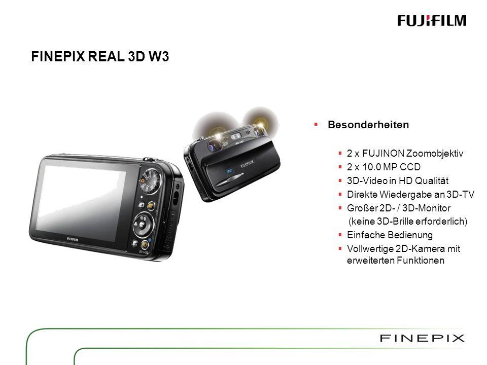 FINEPIX REAL 3D W3 Mini HDMI Kabel (High Speed) erforderlich.