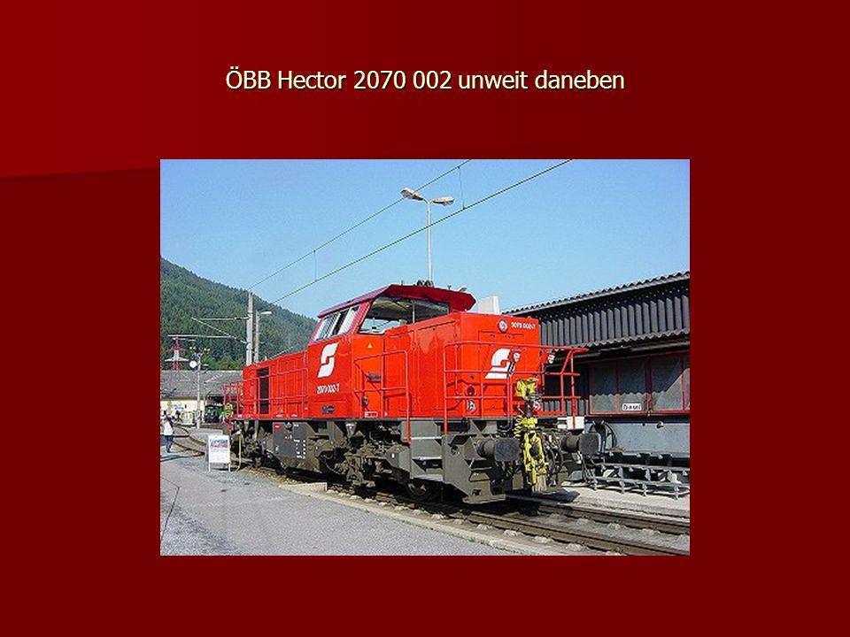 ÖBB Hector 2070 002 unweit daneben