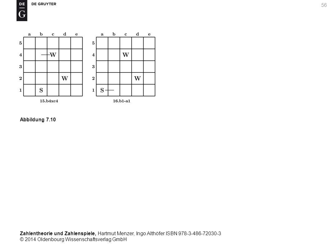 Zahlentheorie und Zahlenspiele, Hartmut Menzer, Ingo Althöfer ISBN 978-3-486-72030-3 © 2014 Oldenbourg Wissenschaftsverlag GmbH 56 Abbildung 7.10