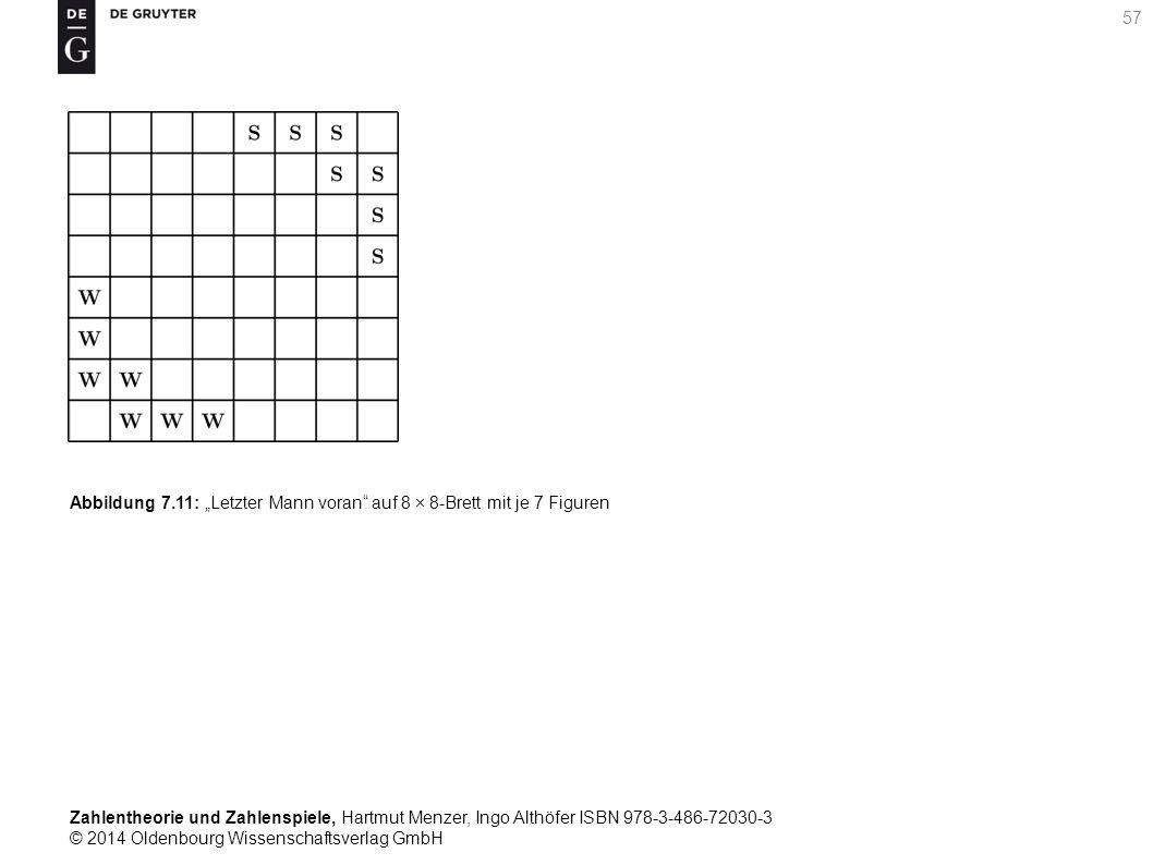 Zahlentheorie und Zahlenspiele, Hartmut Menzer, Ingo Althöfer ISBN 978-3-486-72030-3 © 2014 Oldenbourg Wissenschaftsverlag GmbH 57 Abbildung 7.11: Let