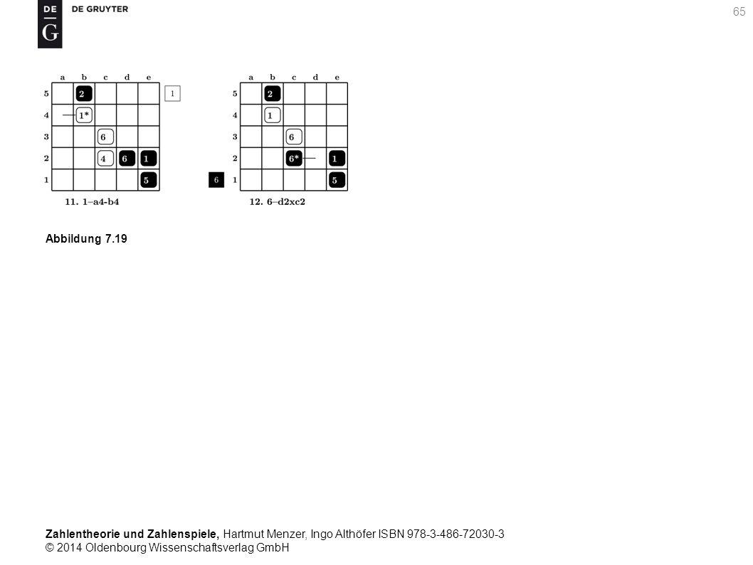 Zahlentheorie und Zahlenspiele, Hartmut Menzer, Ingo Althöfer ISBN 978-3-486-72030-3 © 2014 Oldenbourg Wissenschaftsverlag GmbH 65 Abbildung 7.19