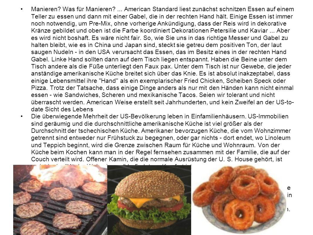 Manieren? Was für Manieren?... American Standard liest zunächst schnitzen Essen auf einem Teller zu essen und dann mit einer Gabel, die in der rechten