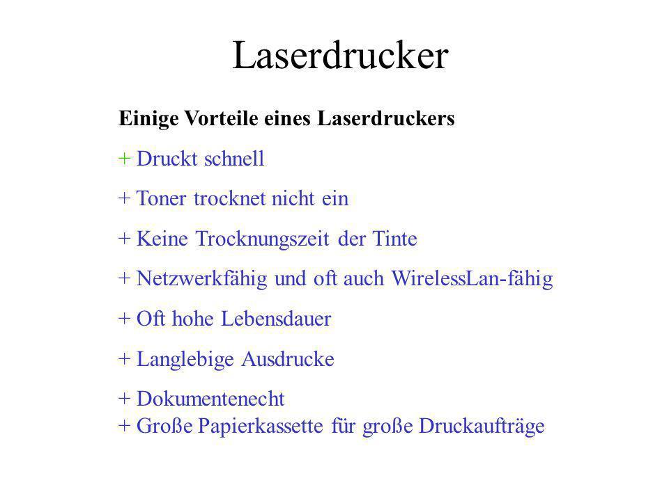 Tintenstrahl-Laser Drucker Tintenstrahl- oder Laserdrucker kaufen .
