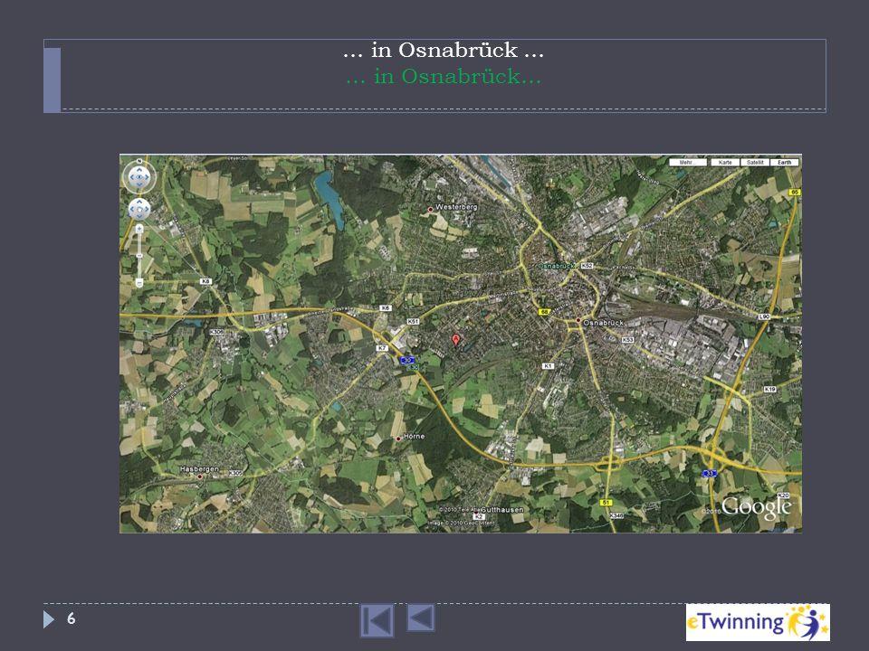 … in Osnabrück … … in Osnabrück… 6