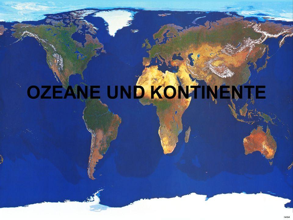 NASA OZEANE UND KONTINENTE