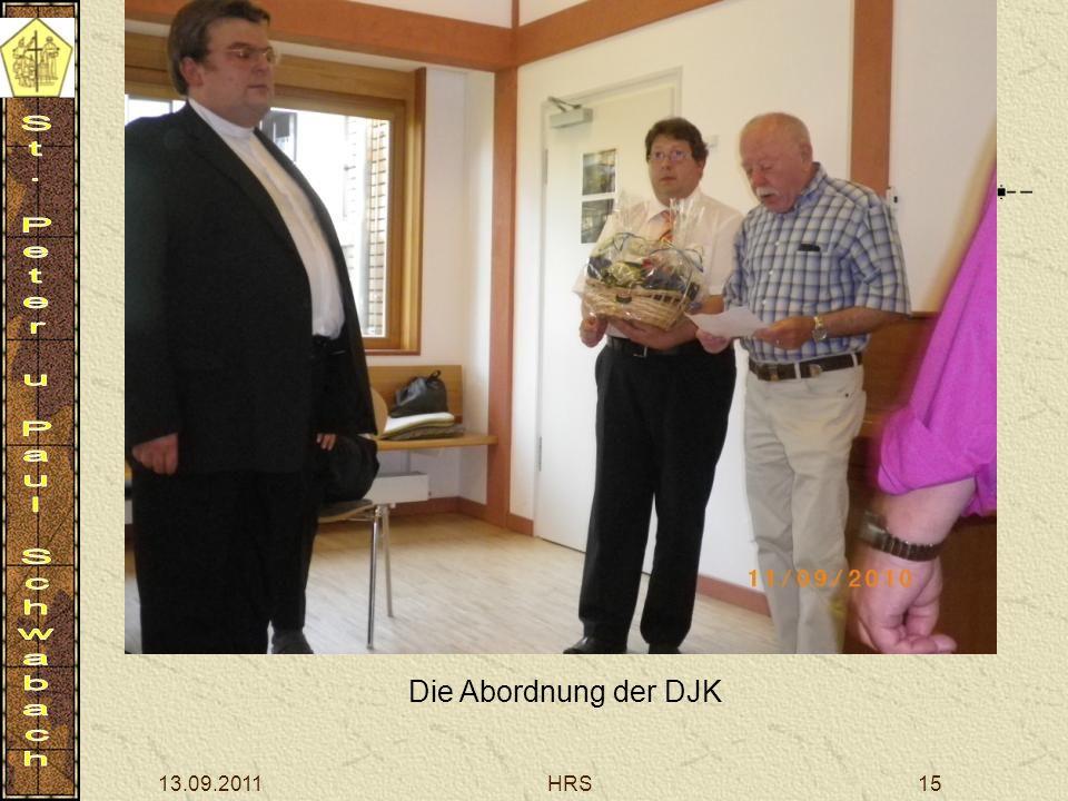 13.09.2011HRS15 Die Abordnung der DJK
