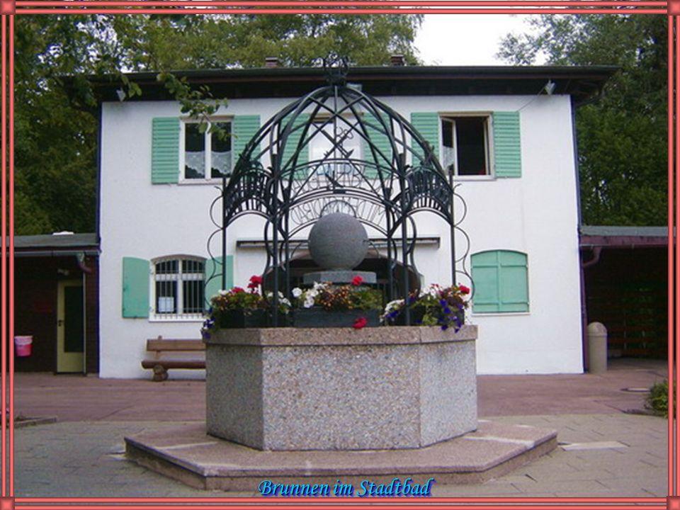 Feilbergmühlrad in den Calgeer-Anlagen