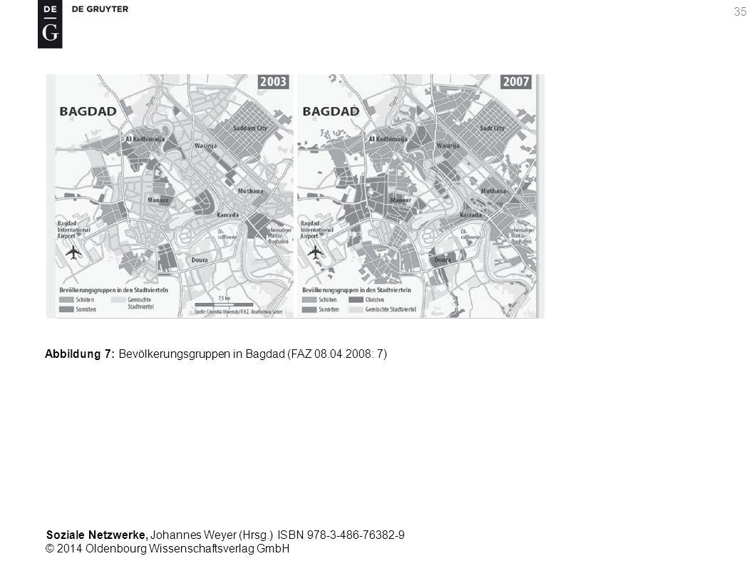 Soziale Netzwerke, Johannes Weyer (Hrsg.) ISBN 978-3-486-76382-9 © 2014 Oldenbourg Wissenschaftsverlag GmbH 35 Abbildung 7: Bevölkerungsgruppen in Bag