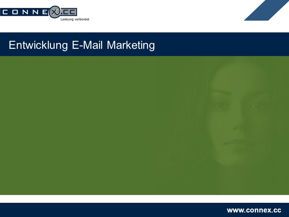 www.connex.cc Entwicklung E-Mail Marketing