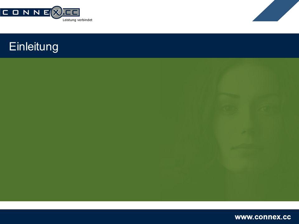 www.connex.cc Einleitung