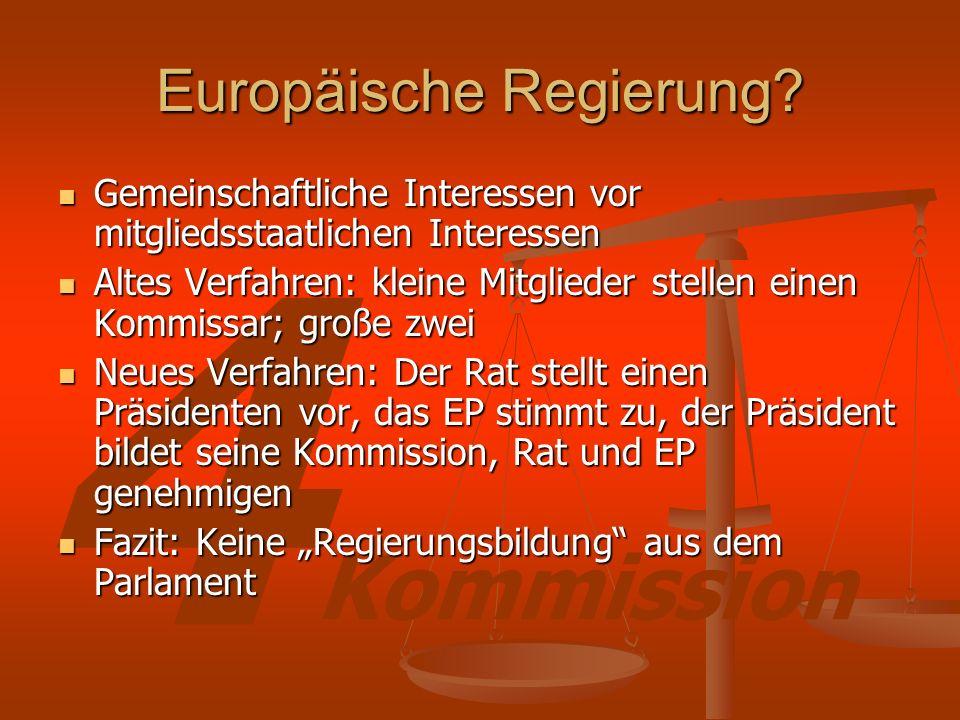 4 Kommission Europäische Regierung.