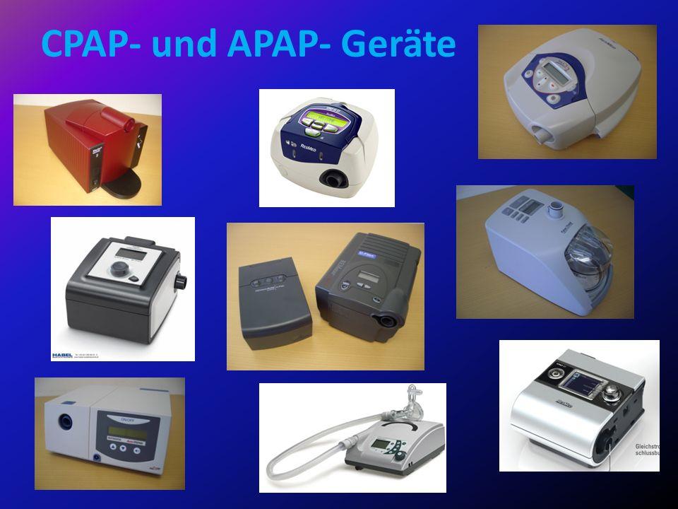 CPAP- und APAP- Geräte