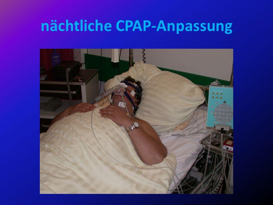 nächtliche CPAP-Anpassung