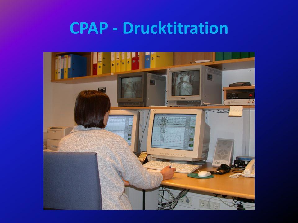 CPAP - Drucktitration