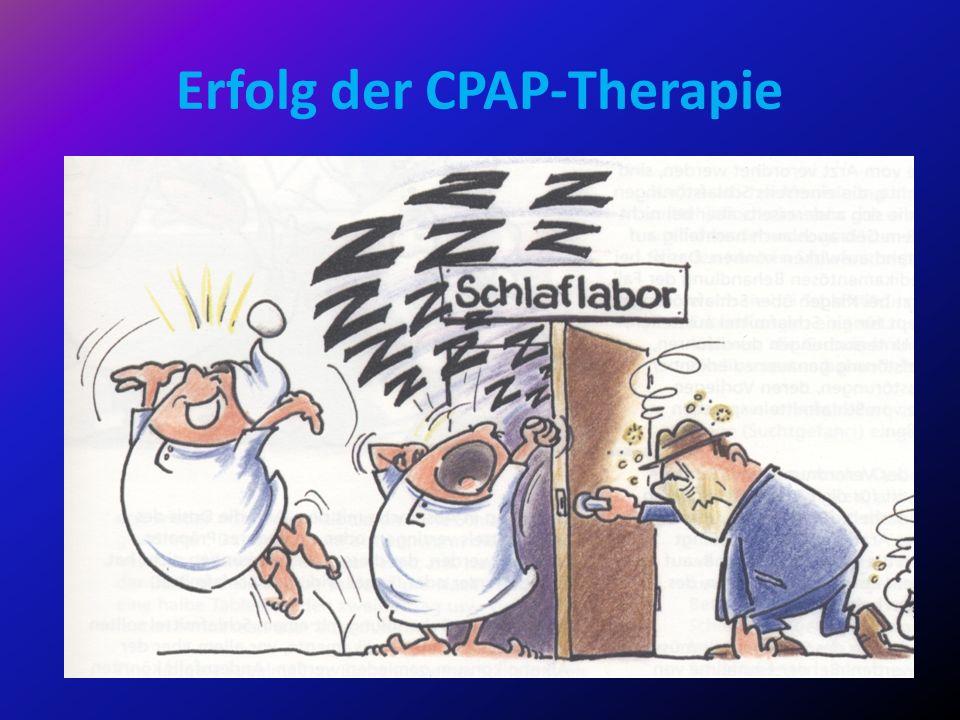 Erfolg der CPAP-Therapie