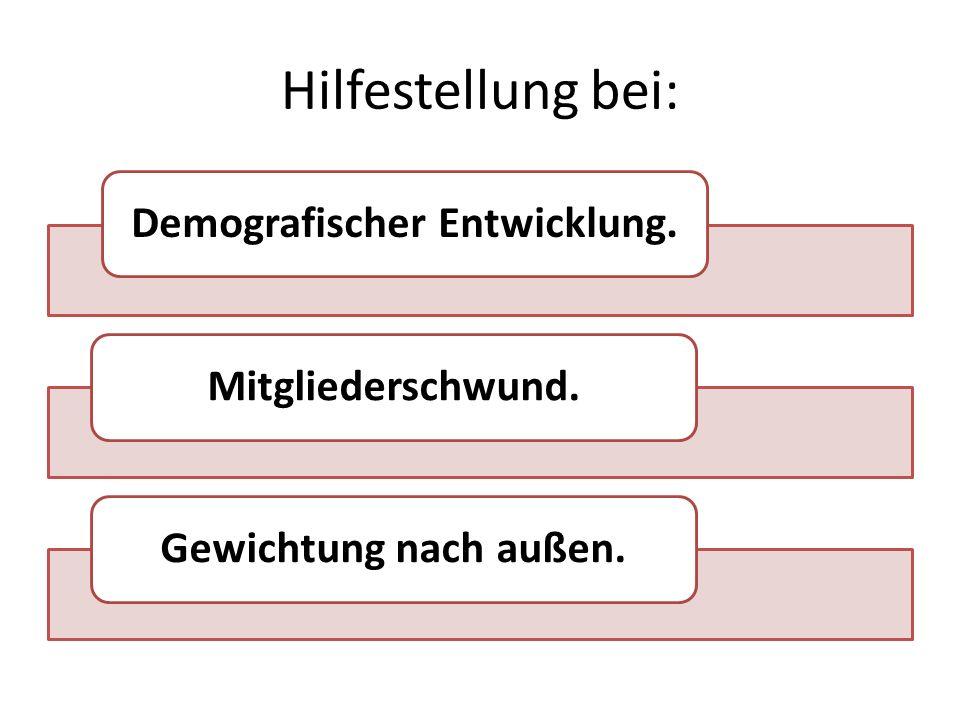Struktur Änderung der Organisation der Ehrungen wie zentraler Ehrungstermin.