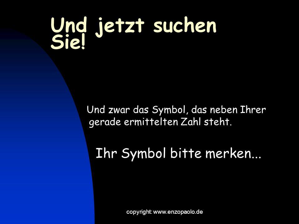 copyright: www.enzopaolo.de Ziehen Sie von Ihrer gedachten Zahl die beiden einzelnen Ziffern ab BEISPIEL: Gedachte Zahl: 54 54 minus 5 (49) minus 4 (45) Ergebnis: 45 Hä?.
