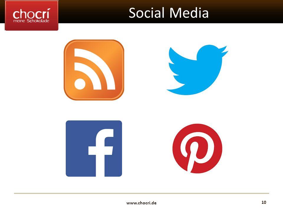 www.chocri.de 10 Social Media