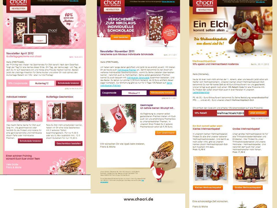www.chocri.de 13 Newsletter