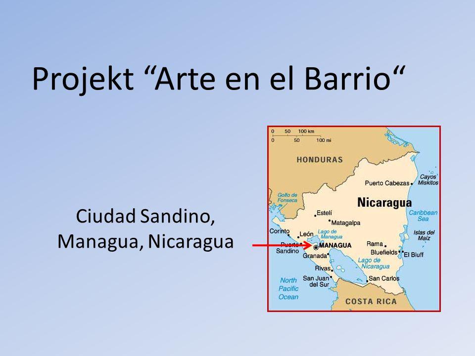 Projekt Arte en el Barrio Ciudad Sandino, Managua, Nicaragua