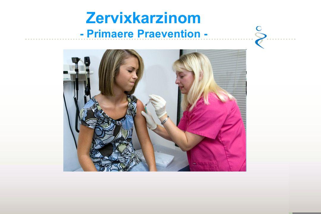 Zervixkarzinom - Primaere Praevention -