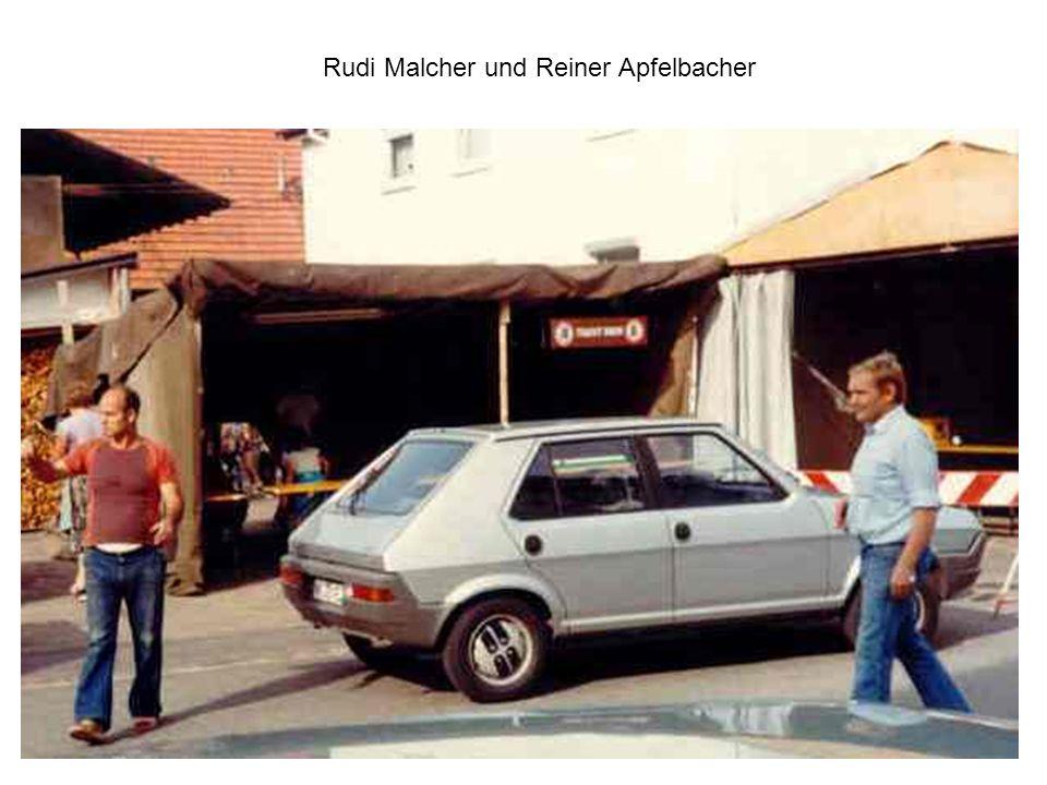 Auch Gerhard Schweizer ist beteiligt