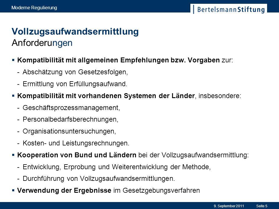Nachhaltigkeitsprüfung Bisherige Ergebnisse – Auswahl 9.