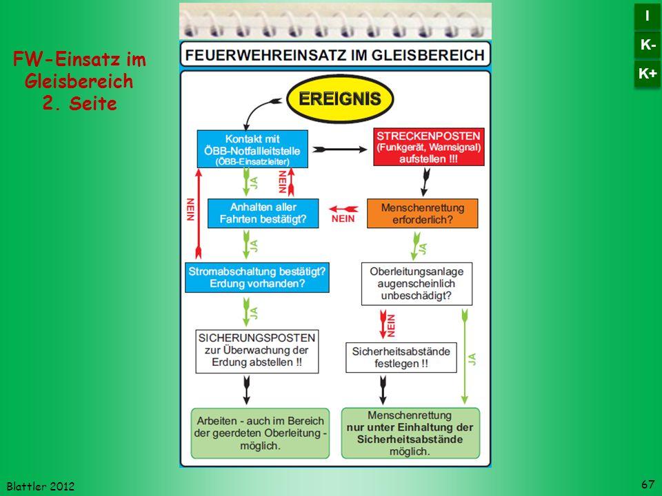 Blattler 2012 67 FW-Einsatz im Gleisbereich 2. Seite K- I I K+