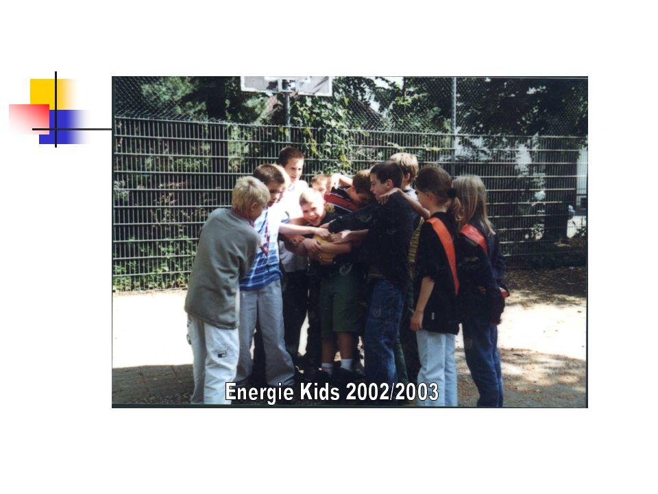 Energie Kids im Einsatz