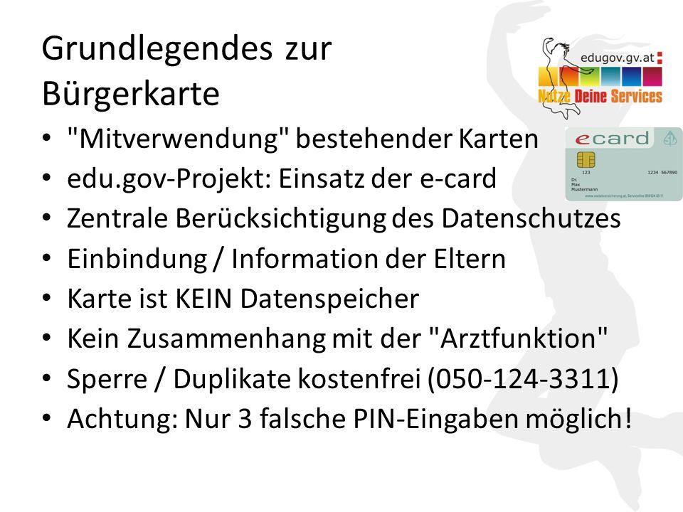 9 Warum Bürgerkarte.