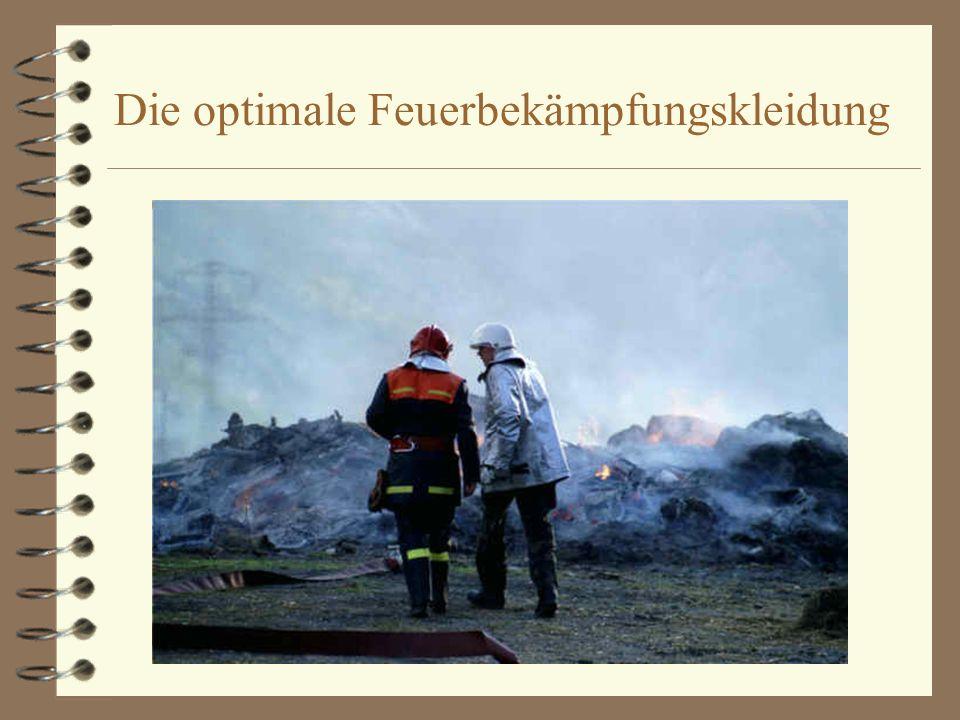 Die optimale Feuerbekämpfungskleidung