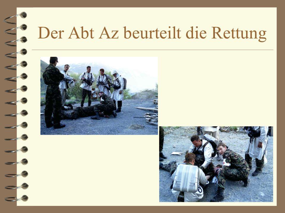 Der Abt Az beurteilt die Rettung