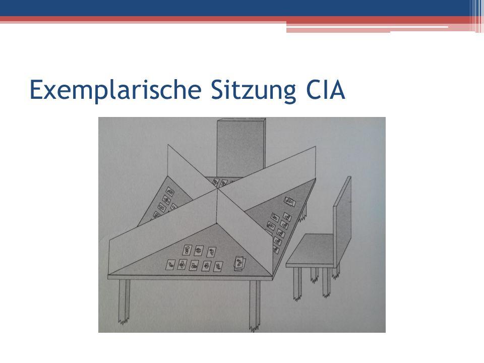 Exemplarische Sitzung CIA