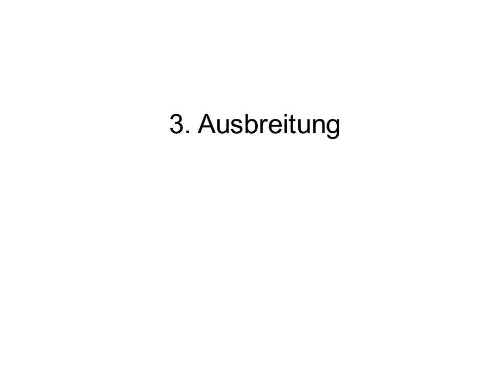 3. Ausbreitung