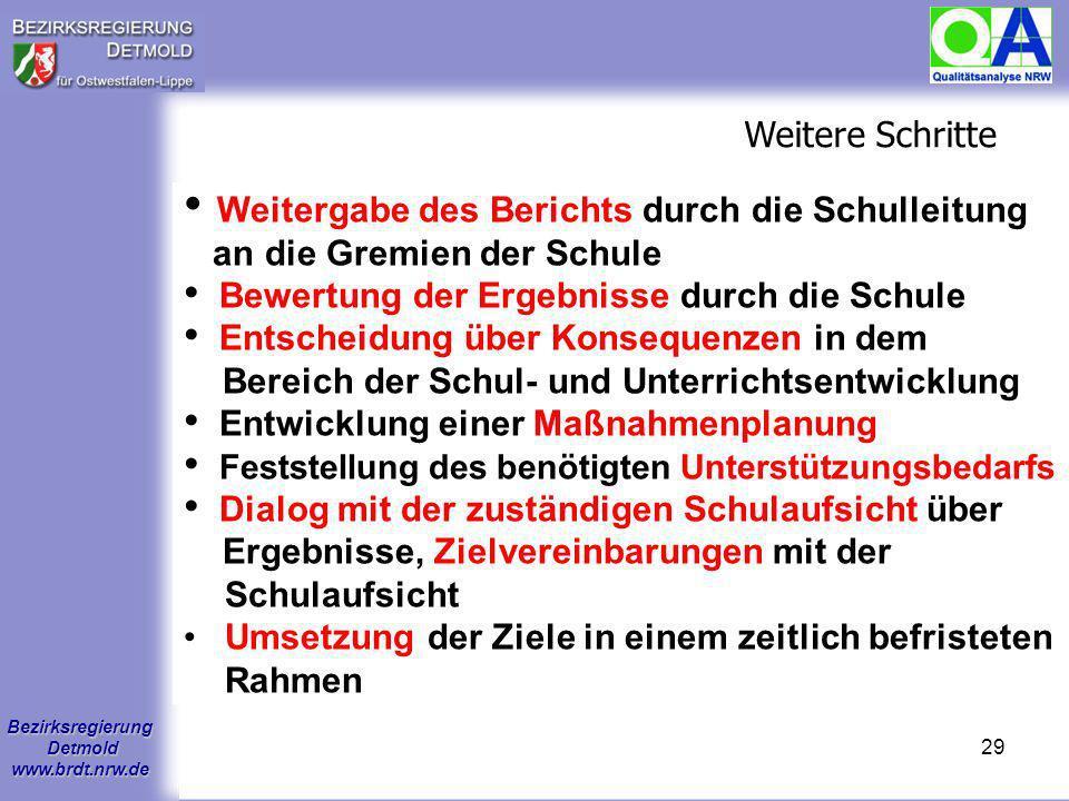 Bezirksregierung Detmold www.brdt.nrw.de 28