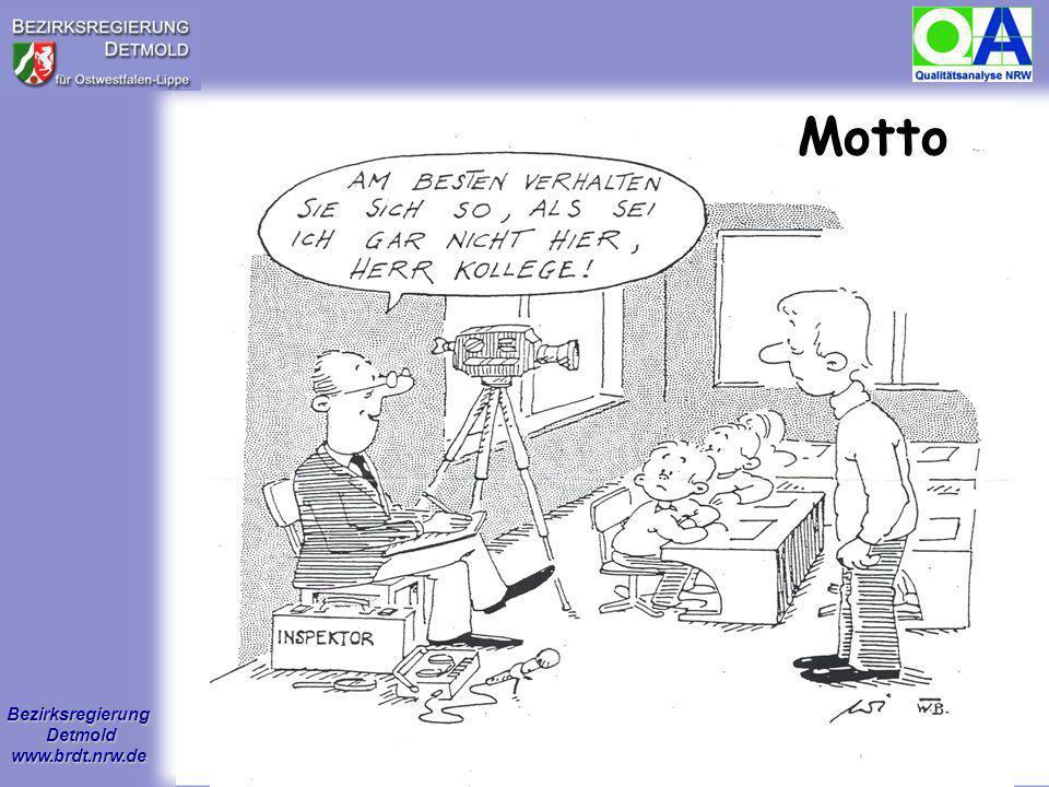 Bezirksregierung Detmold www.brdt.nrw.de 3 Motto