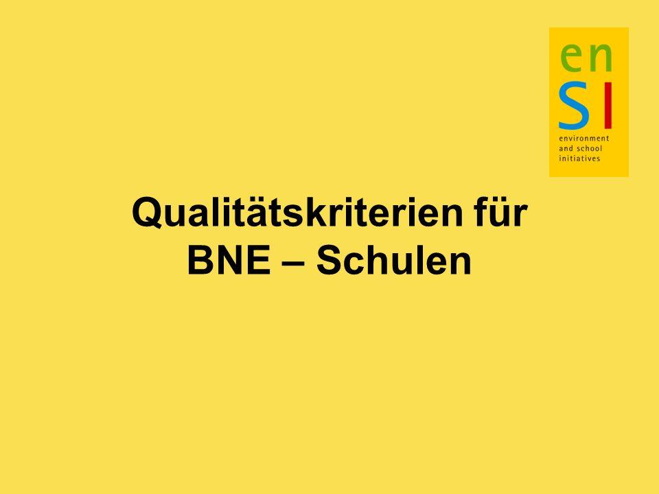 Qualitätskriterien in Bezug auf die Außenbeziehungen der Schule 14.