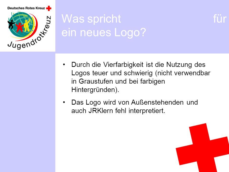Durch die Vierfarbigkeit ist die Nutzung des Logos teuer und schwierig (nicht verwendbar in Graustufen und bei farbigen Hintergründen).