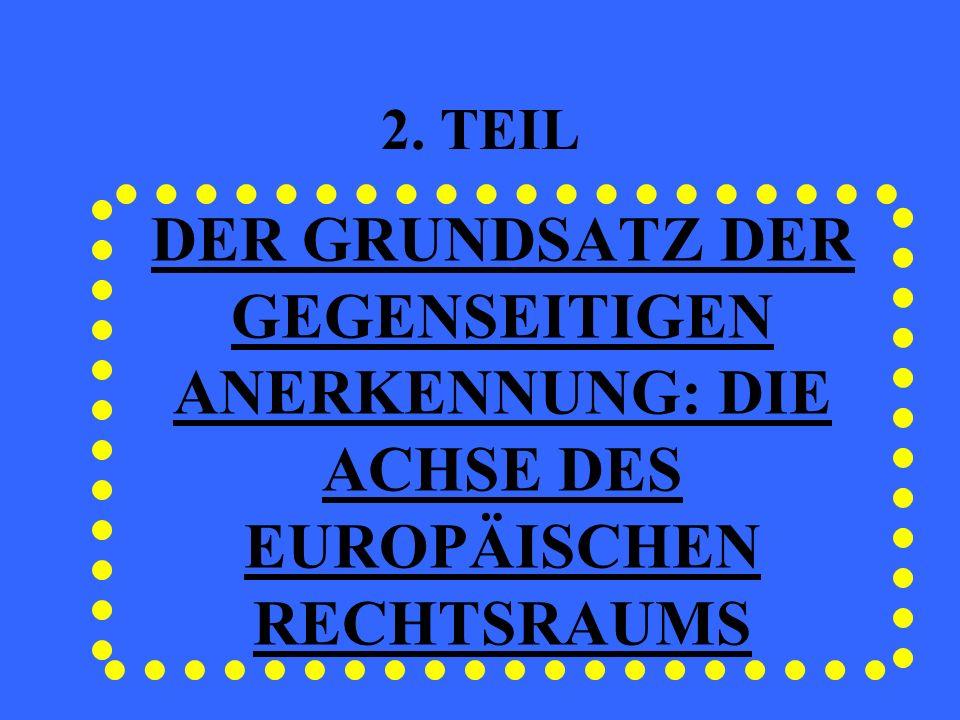 DAS STOCKHOLMER PROGRAMM: MAßNAHMEN ZUR FÖRDERUNG DES VERTRAUENS ZWISCHEN JUSTIZBEHÖRDEN Aus- und Fortbildung von JustizbehördenAus- und Fortbildung von Justizbehörden Verantwortung der StaatenVerantwortung der Staaten Unterstützung der EU, vorallem in der Anwendung des Gemeinschaftsrechts und in der Entwicklung des Grundsatzes der gegenseitigen AnerkennungUnterstützung der EU, vorallem in der Anwendung des Gemeinschaftsrechts und in der Entwicklung des Grundsatzes der gegenseitigen Anerkennung Entwicklung von Netzen der JustizbehördenEntwicklung von Netzen der Justizbehörden Europäisches Justizielles Netz in Zivil- und HandelssachenEuropäisches Justizielles Netz in Zivil- und Handelssachen Europäisches Netz der Räte für Justizwesen (EJCN)Europäisches Netz der Räte für Justizwesen (EJCN) Europäisches Netz für justizielle Ausbildung (EJTN)Europäisches Netz für justizielle Ausbildung (EJTN)